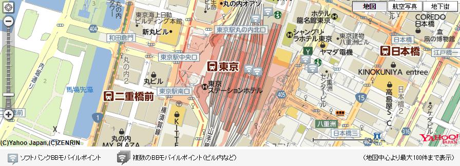 ソフトバンク「BBモバイルポイント」は地図から探せる