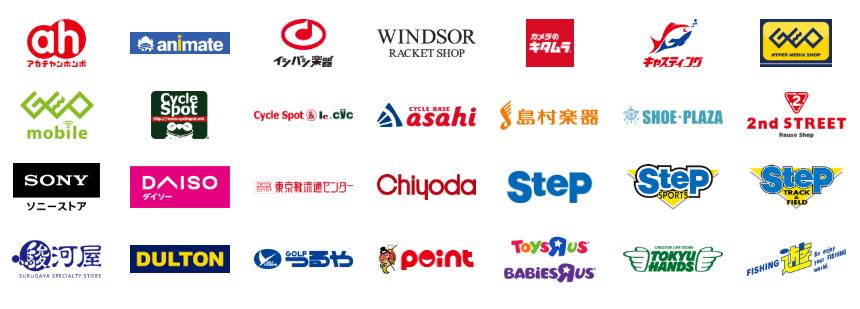 ソフトバンク「PayPay」 利用可能店舗(ショッピング)